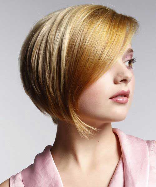Nice Tapered Bob Haircut