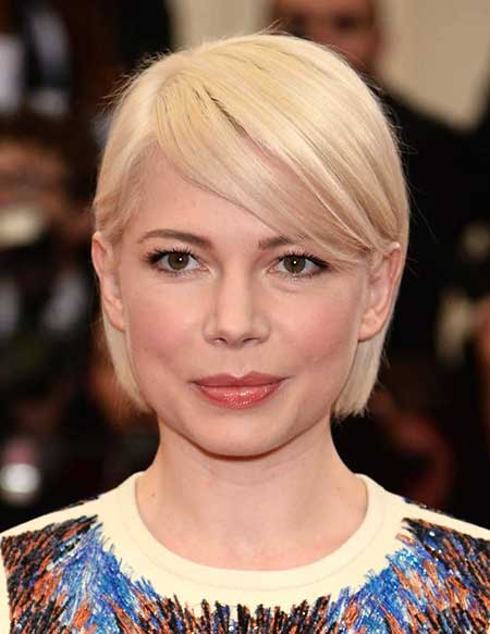 Short Blonde Straight Simple Style