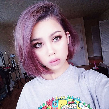 Amazing Purple Hair