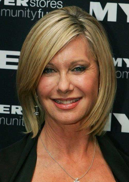 Bob Hairstyles for Older Ladies-10
