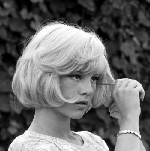 Sylvie Vartan French Bob Hair