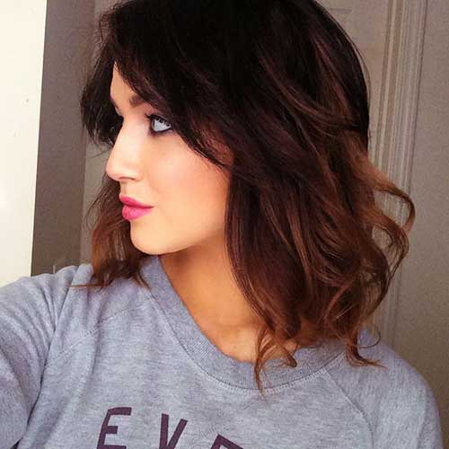 Ombre Hair Color For Short Hair-17