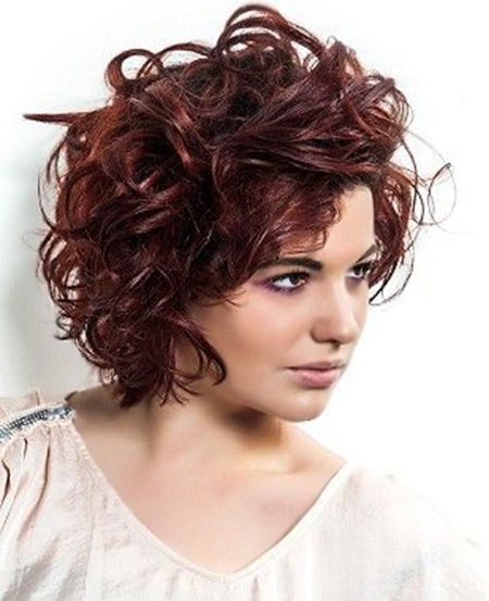 Cute Short Curly Hair_6