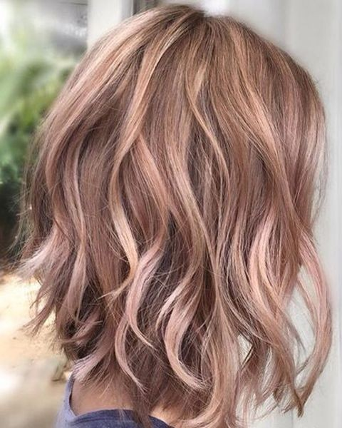 balayage-wavy-lob-hairstyles-pastel-hair-color-ideas-2018