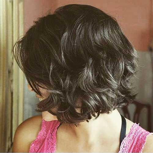 Short Curly Hairstyles for Women 2018 - 19