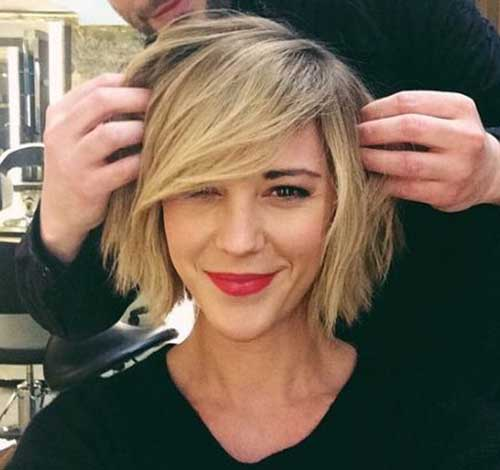 Short Choppy Bobs
