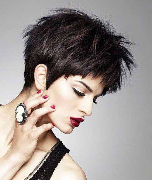 Trendy Hairstyles for Short Hair-18