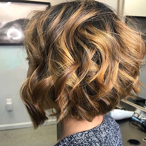 Short Thick Curly Hairstyle 2018