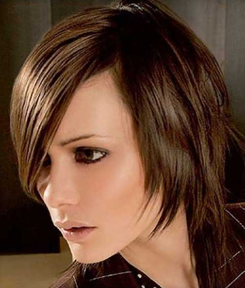 Best Layered Bob Idea for Oval Faces