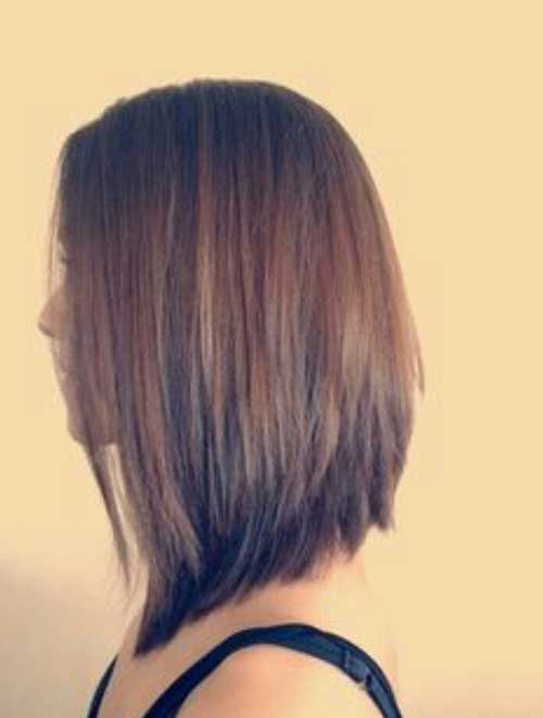 Long Bob Back View