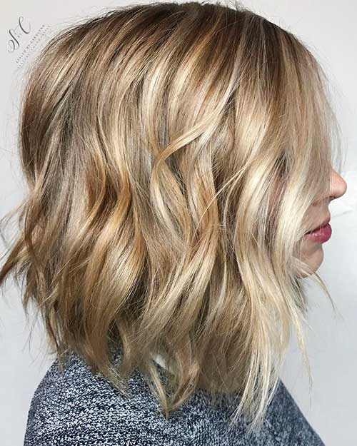 Short Layered Hairstyles 2018 - 13