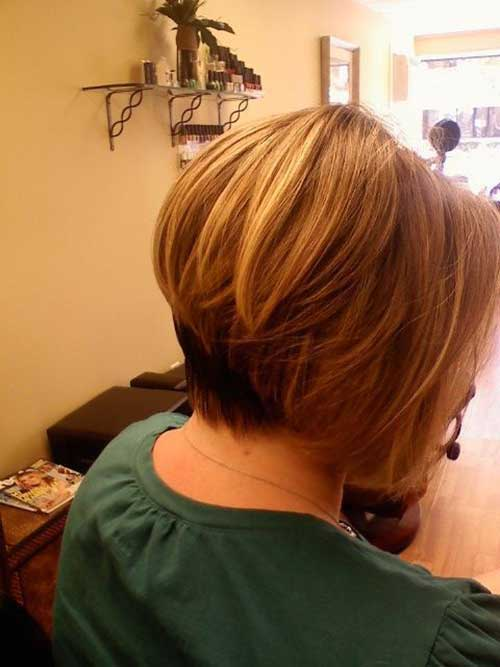 Best Stacked Hairstyles Inverted Bob