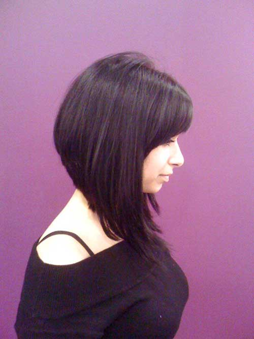 Bob Hairstyle with Bangs-35