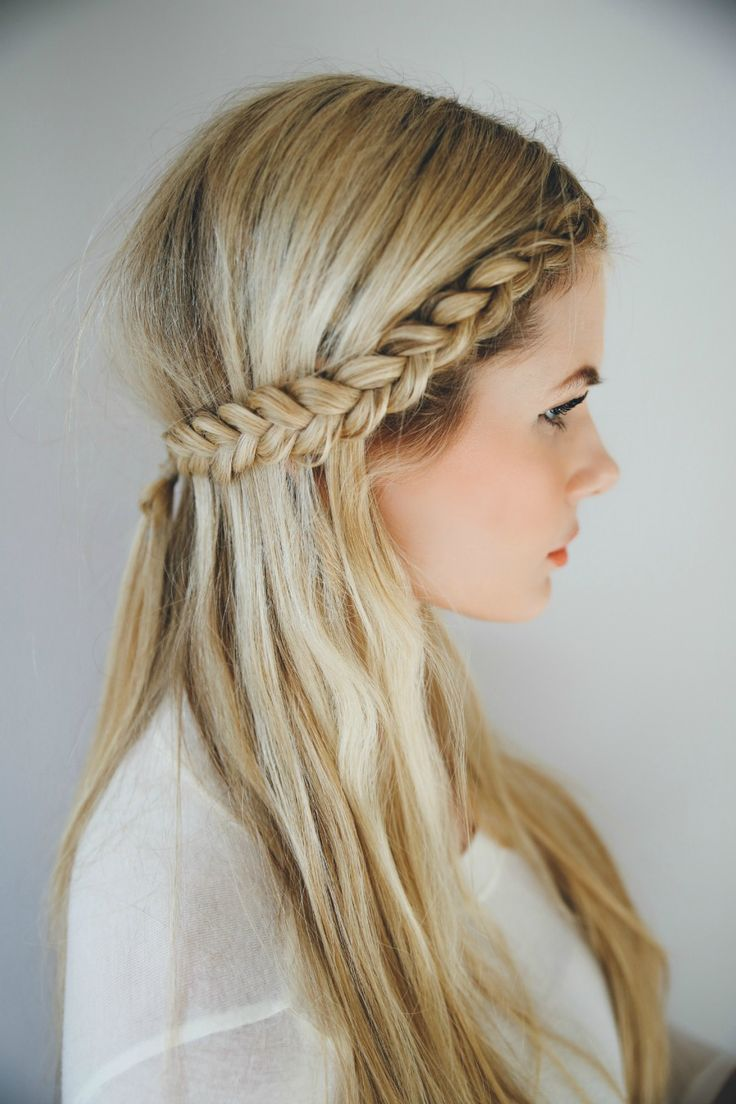 Front Row Braid, Video Tutorial - Die Hälfte der Frisuren