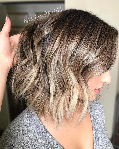 Hairstyles for Short Hair 2018 - 36