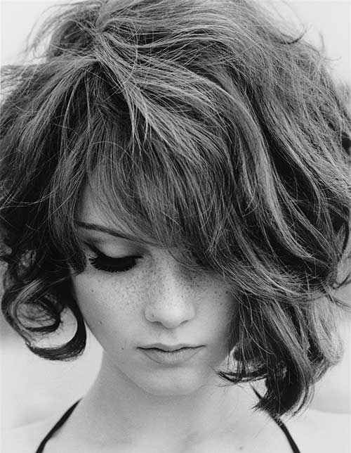 Chic Thick Bob Haircuts