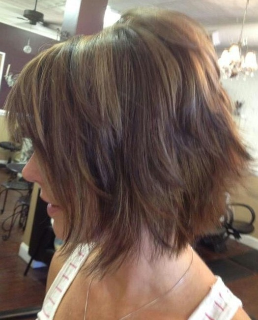 Ombre Shaggy Bob Haircut-Ideen