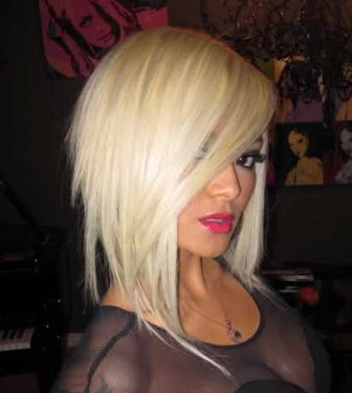 Platinum Bobs Hairstyles for 2018-2018
