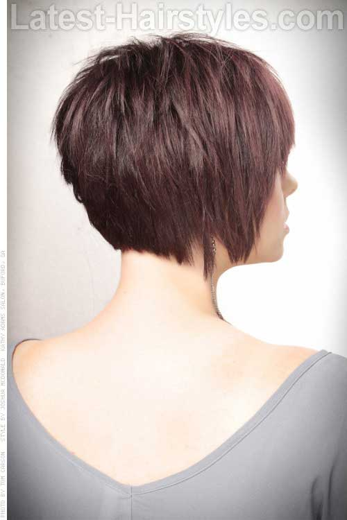 Hairstyles Bobs Back View Pictures