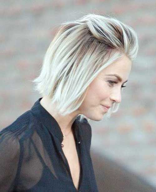 Short Blonde Hair-9