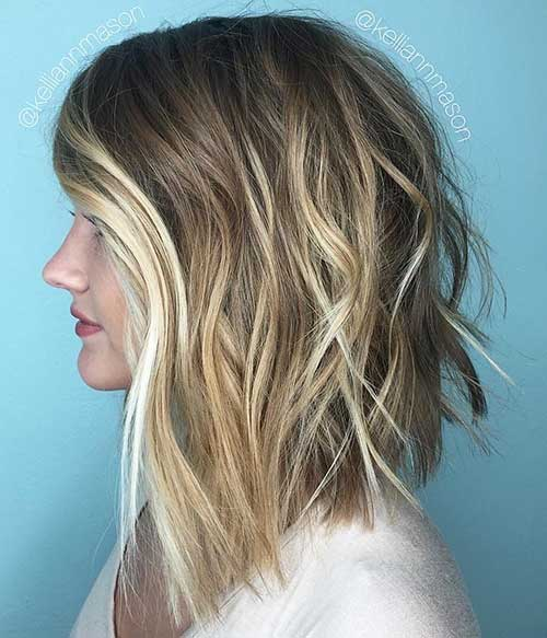 Short Choppy Hairstyles 2018 - 17