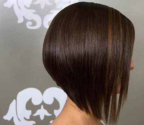 Dark Medium Fine Hair Bob Cuts