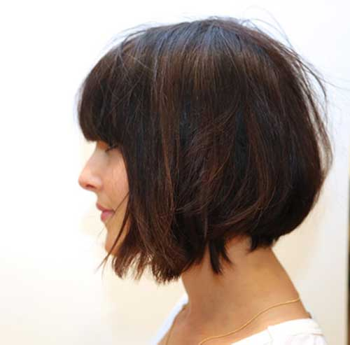 Latest Bobs with Bangs