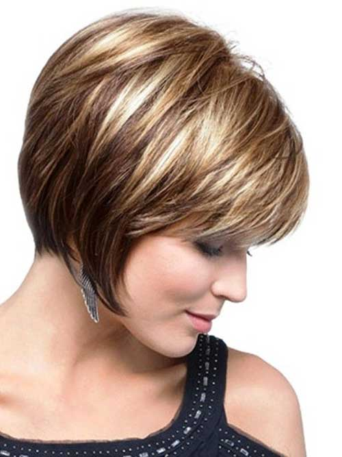 Short Hair Cuts For Women Over 40-10