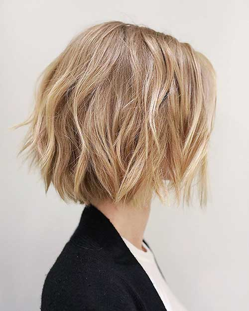 Short Choppy Hairstyles 2018 - 24