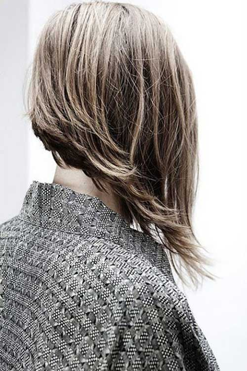 Long Asymmetrical Bob Hairstyles