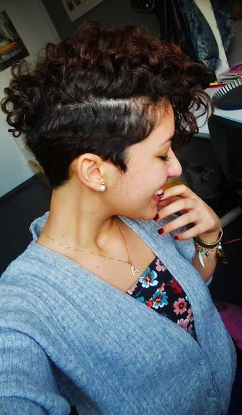 Very Short Curly Hairstyles-7