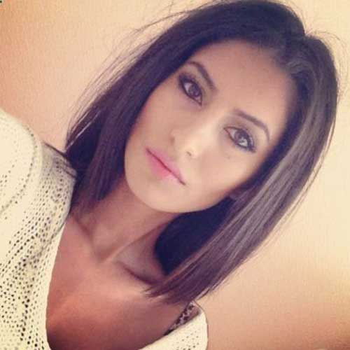Brunette Straight Bob Haircuts