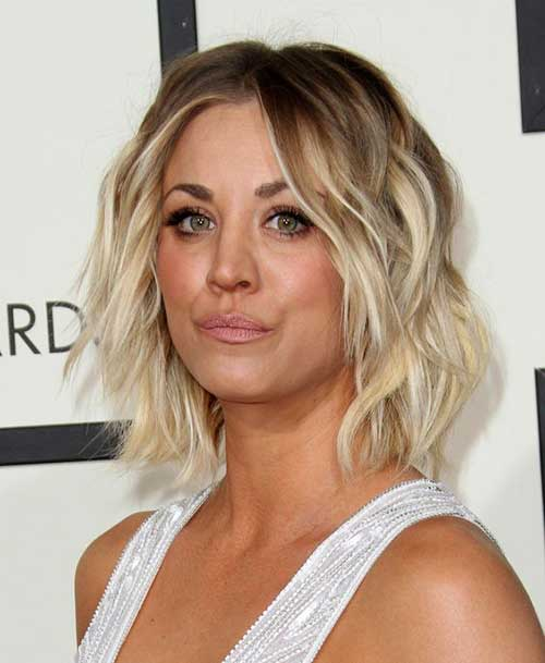Short Haircuts for Round Faces-9