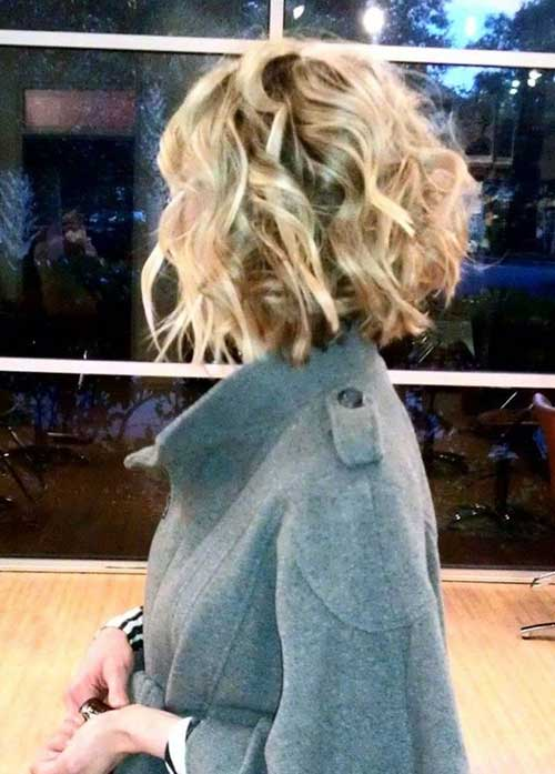 Thick Curly Bob Hairstyles 2018