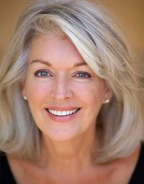 Classy Bob Hairstyles for Older Women