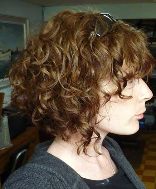 Best Short Curly Bob Hairstyles 2018