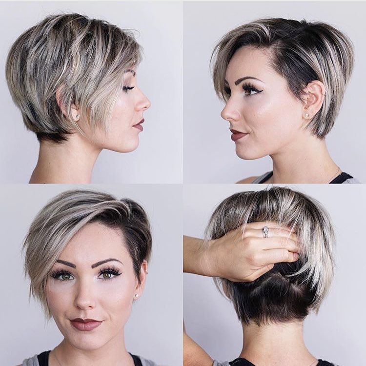Chic Long Pixie Hairstyles - Women Haircut for Short Hair