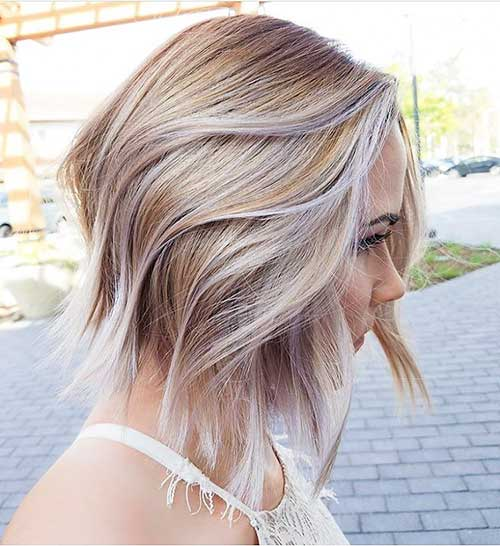 Short Layered Hairstyles 2018 - 32
