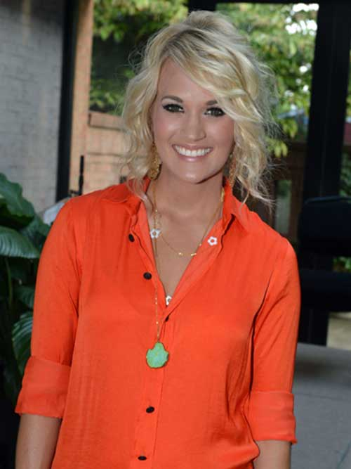Carrie Underwood Bob Hair