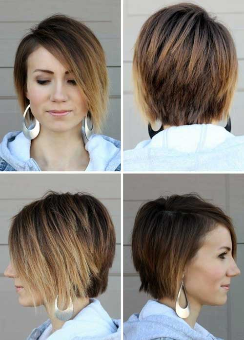 Trendy Short Ombre Bob Hairstyles for 2018