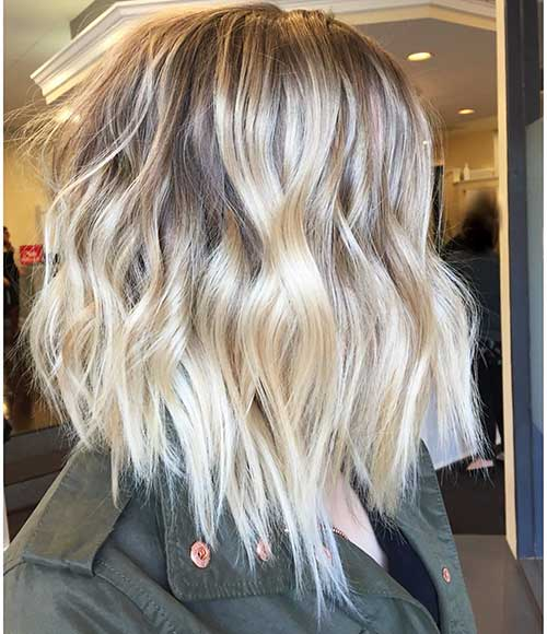 Short Blonde Hair 2018