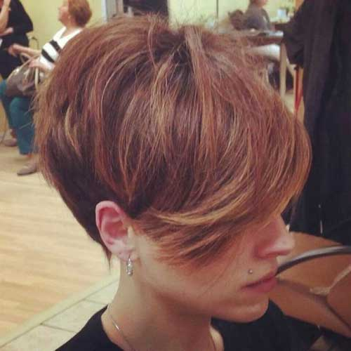 Cute Short Haircuts 2018-23