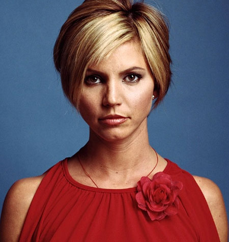 Best Short Hairstyles for Round Faces_12