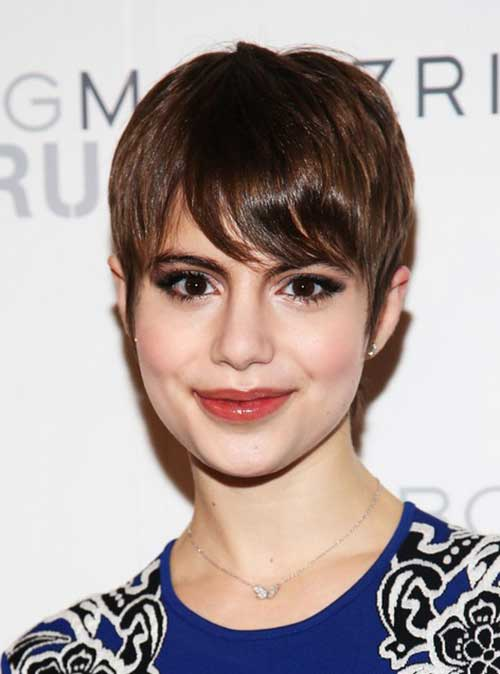 Straight Pixie Hairstyles 2018 2018
