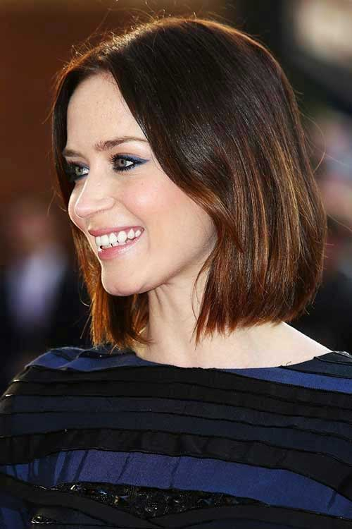 Pictures Of Dark Hairstyles Bobs
