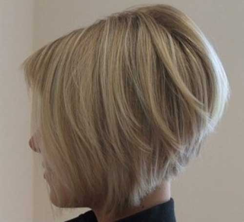 Nice Stacked Bobs for Fine Hair