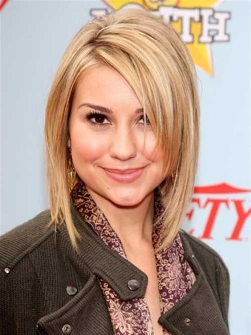 Side Swept Medium Fine Hair Bob Haircuts