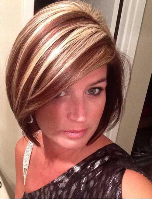 Short Haircuts with Highlights-21