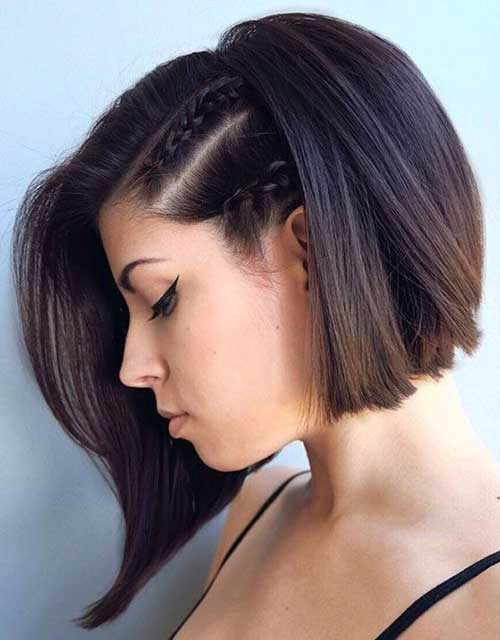 Braided Short Hairstyles-7
