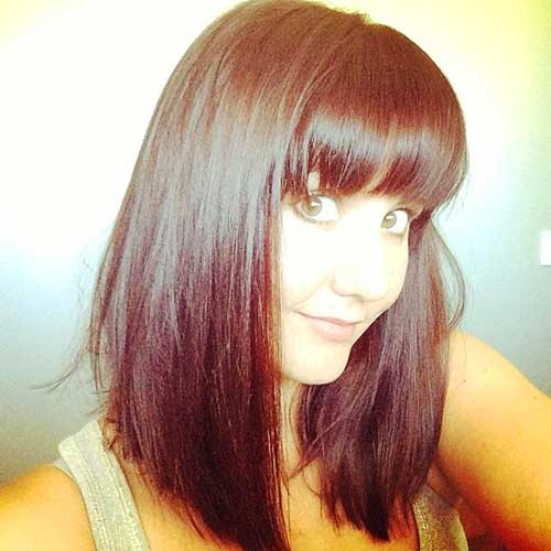 Bob Hairstyle with Bangs-46